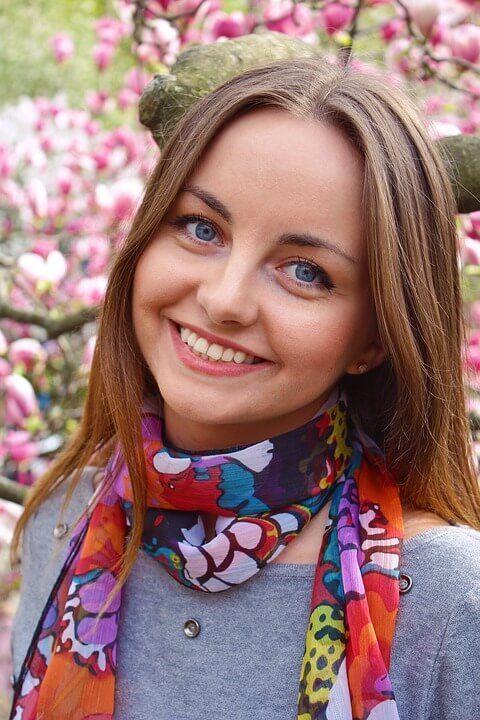 cosmetic dentistry smile girl